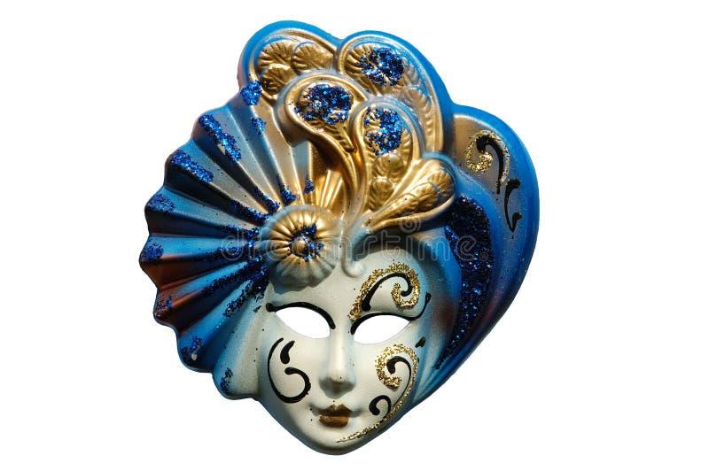 Masque vénitien - d'isolement image stock