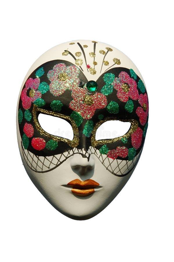 Masque vénitien - d'isolement photographie stock