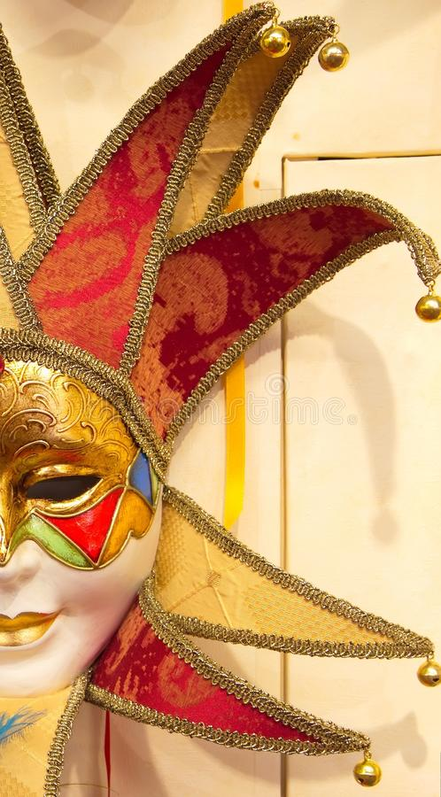 Masque vénitien, Venise, Italie photographie stock libre de droits