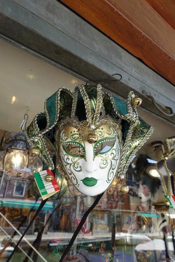 masque Venise l'Italie photo stock