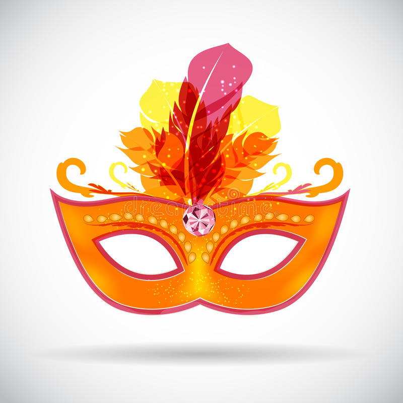 Free Masquerade Carnival Mask Icon Vector Illustration Stock Images - 78757954
