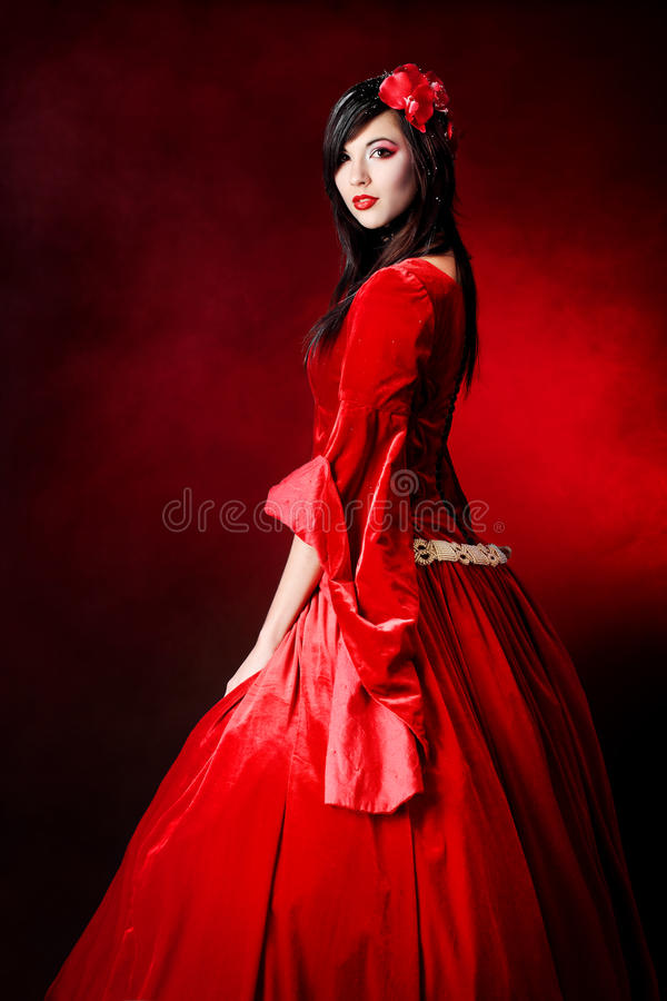 Masquerade girl royalty free stock images