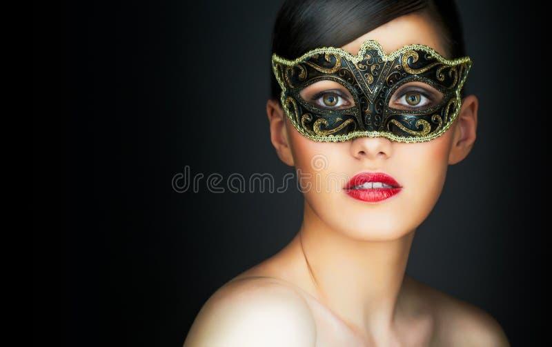 Masquerade mask stock photo