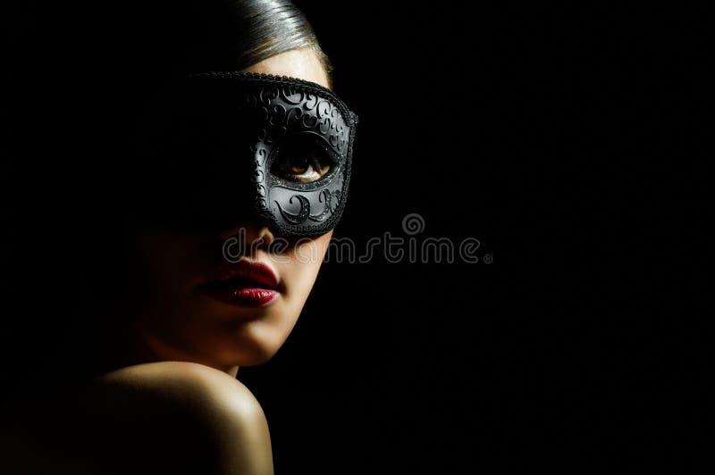Masquerade mask stock photos