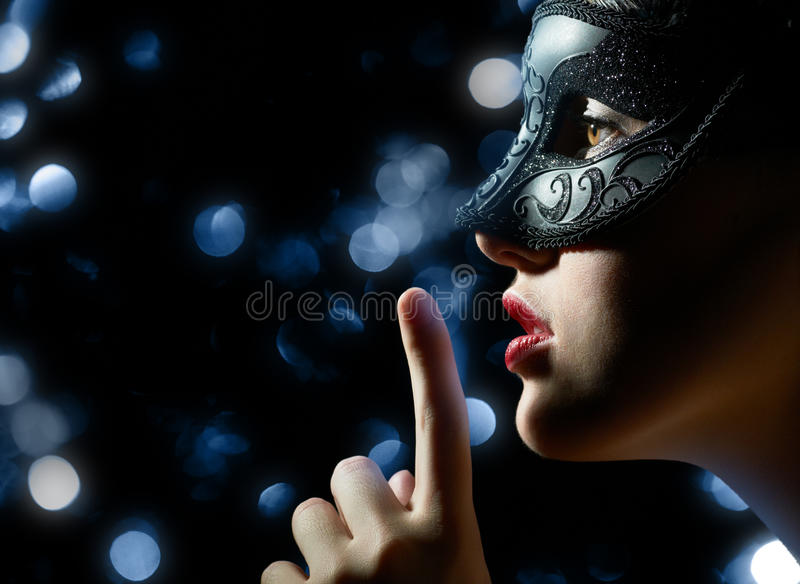 Download Masquerade mask stock image. Image of masquerade, dark - 22831605
