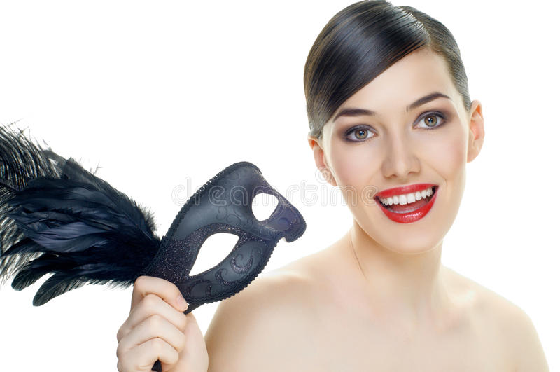 Masquerade mask royalty free stock photos