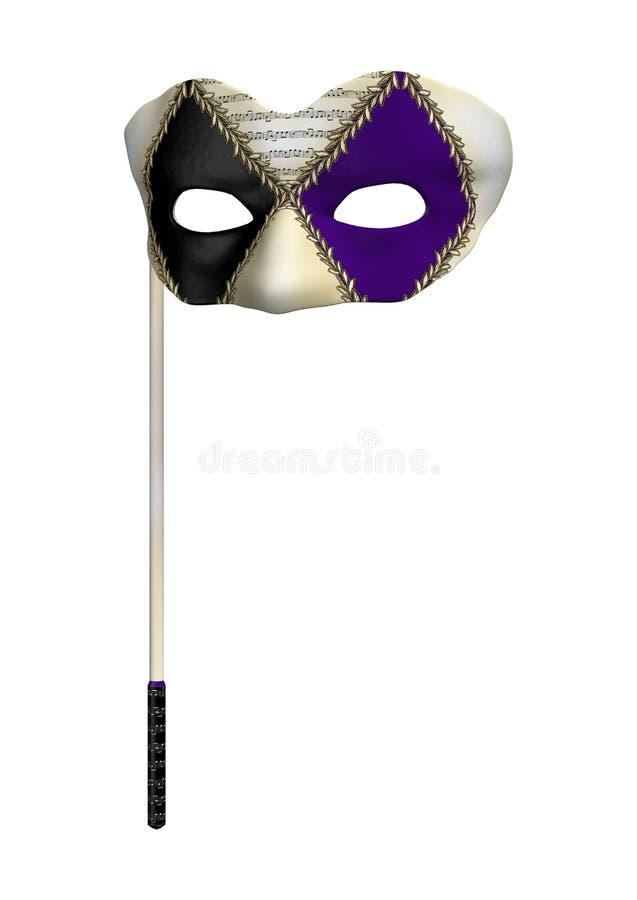 Download Masquerade Mask stock illustration. Image of decoration - 34622680
