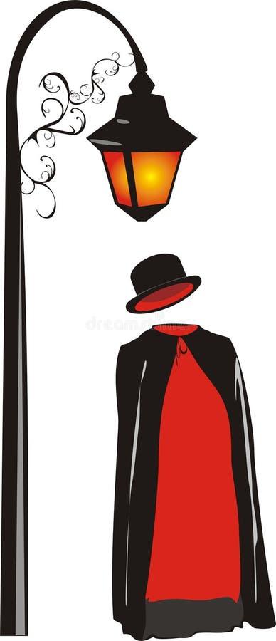 Masquerade suit royalty free illustration
