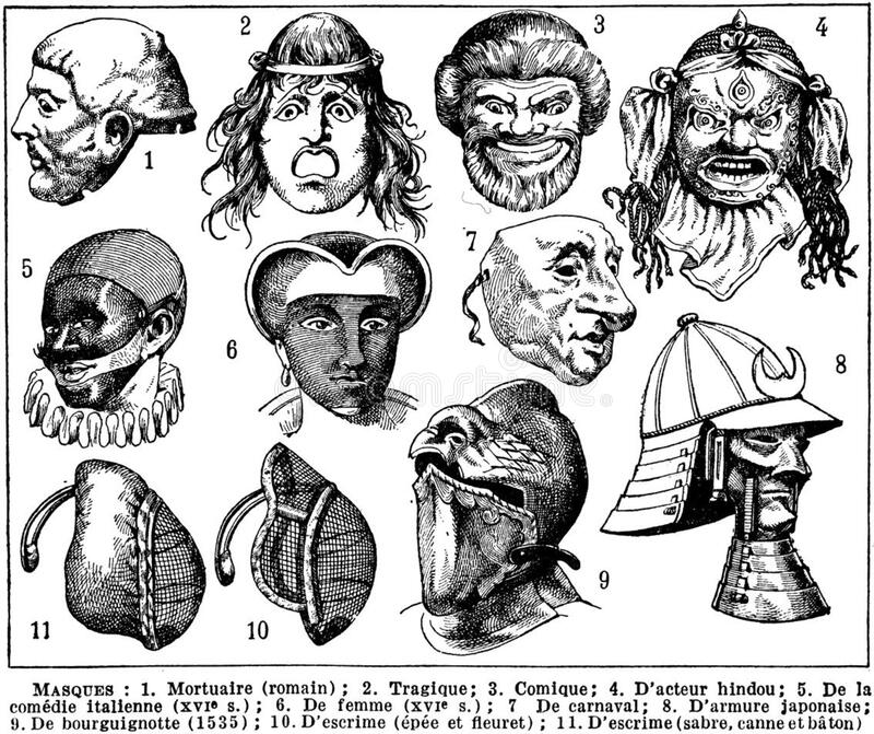 Masques-2 Free Public Domain Cc0 Image