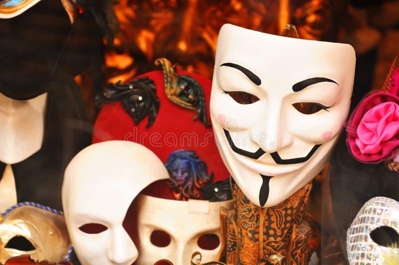 Masques photos libres de droits