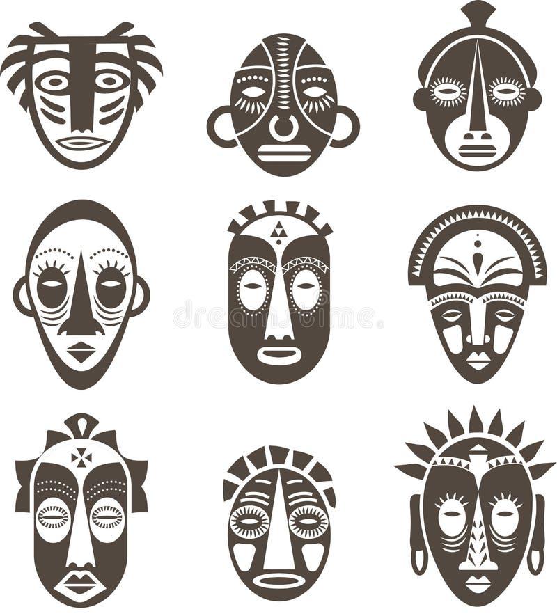 masque africain vecteur