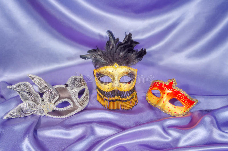 Masques de carnaval photos stock