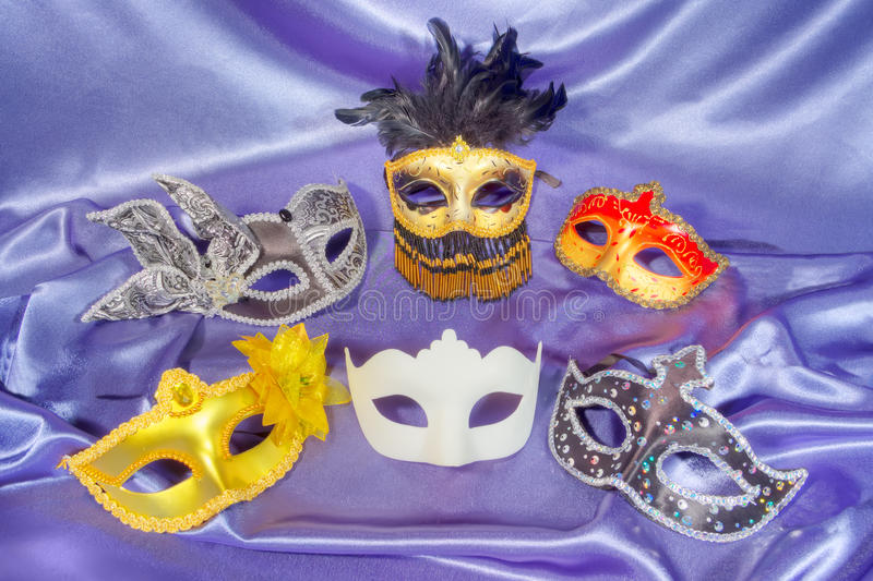 Masques de carnaval photographie stock libre de droits