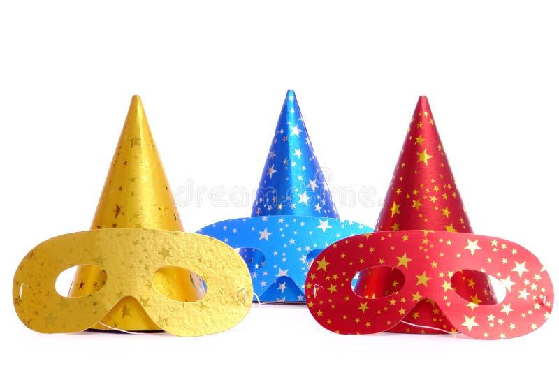 Masques de carnaval images stock