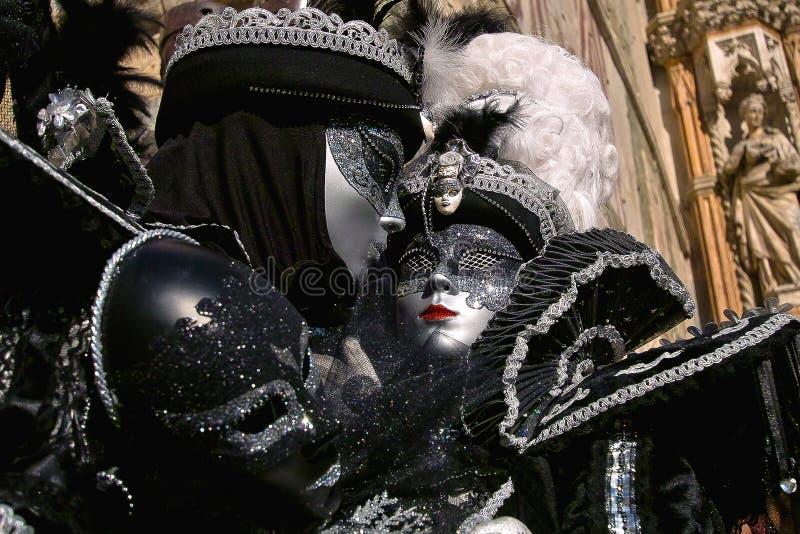 Masques de carnaval de Venise image stock