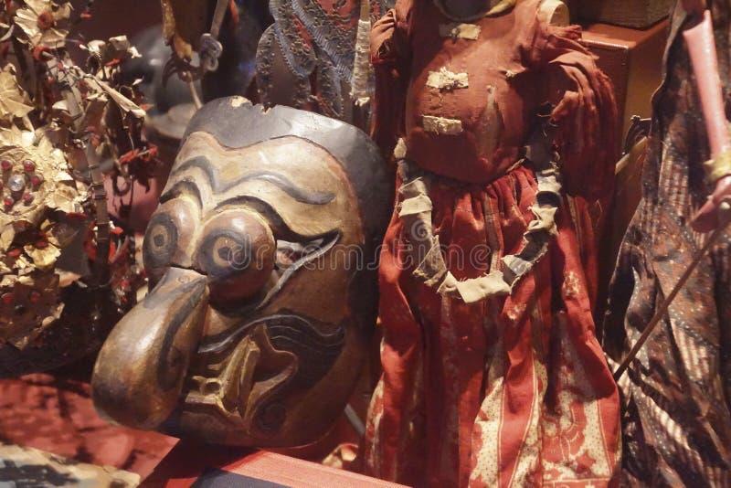 Masques de danse des anc?tres photos libres de droits