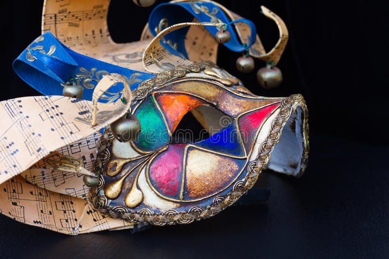 Masques de mardi gras photo stock