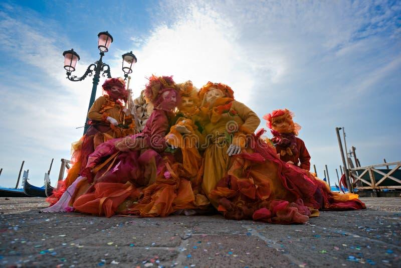Masques de Venise, carnaval. photos libres de droits
