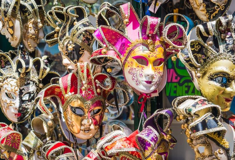 Masques v?nitiens de carnaval, Venise, Italie photo stock