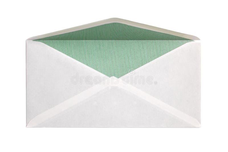 Masquez l'enveloppe ouverte photo libre de droits
