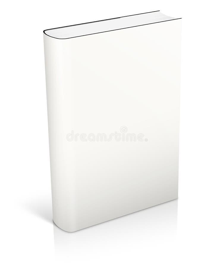 Masquez le cache de livre blanc illustration libre de droits