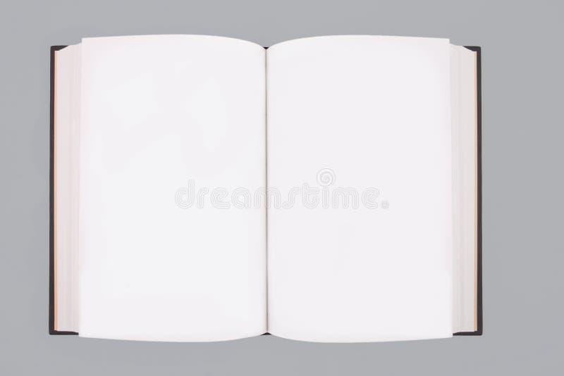 Masquez le livre ouvert image stock