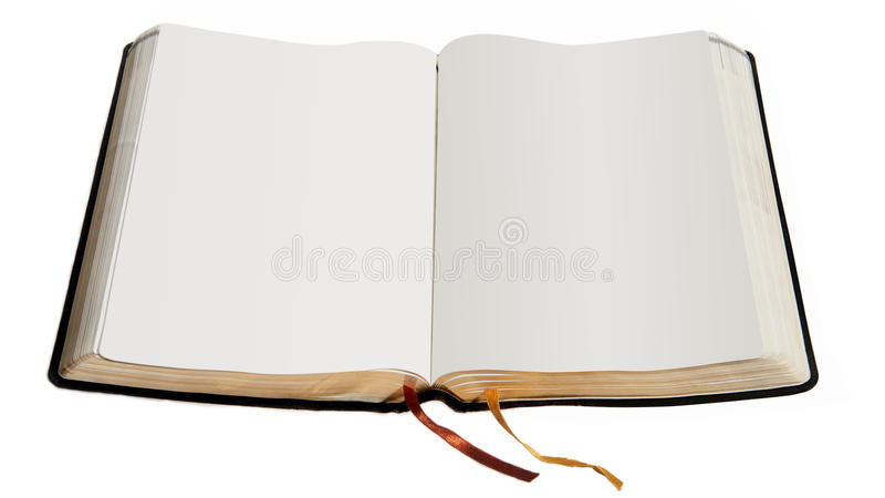 Masquez le livre ouvert image libre de droits