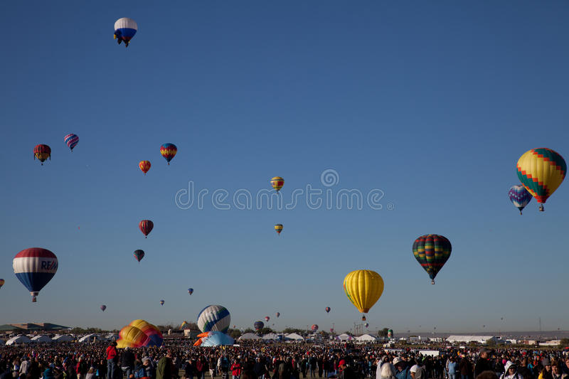 Download Mass Ascension editorial photo. Image of albuquerque - 16438391