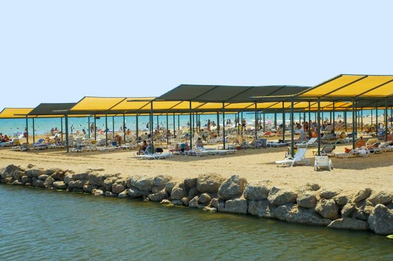 Download Mass tourism beach Turkey stock image. Image of paradise - 2934661