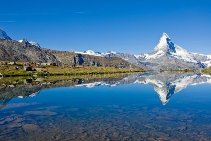 Download Mass Tourism At The Matterhorn Stock Photo - Image: 15983132