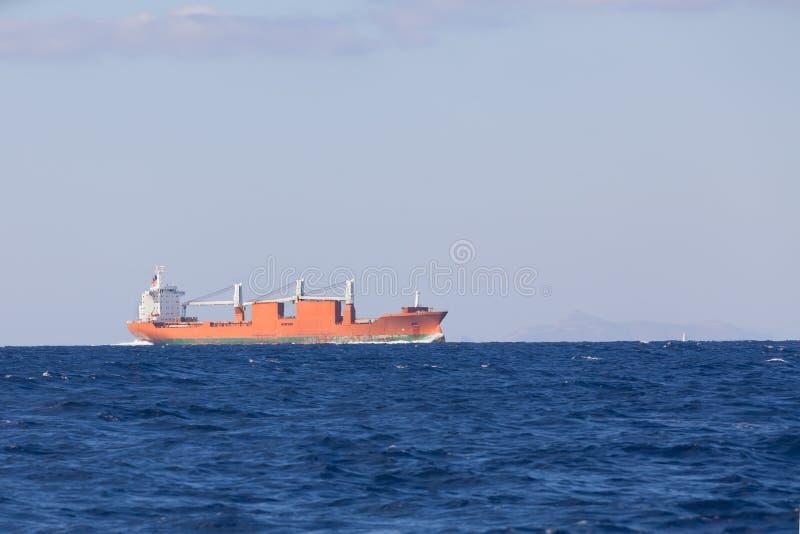 Massa-bärare skepp royaltyfri foto