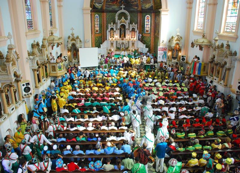 Massa de Camada fina de Reis Povo em Brasil imagens de stock royalty free