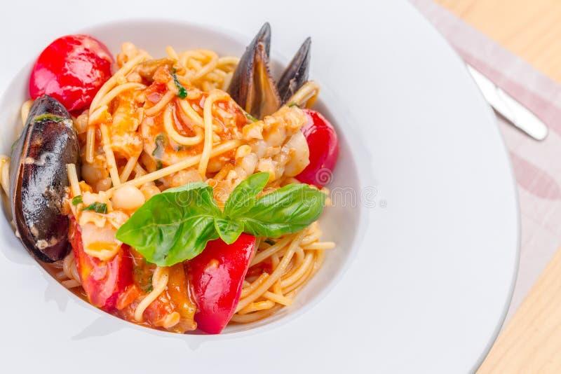 Massa do alimento de mar imagens de stock royalty free
