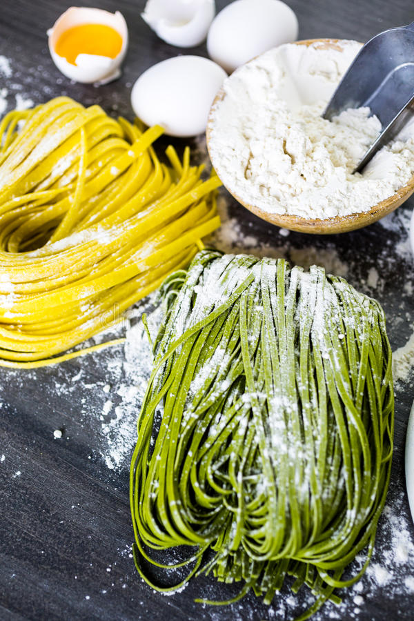 Massa do Linguine fotografia de stock royalty free