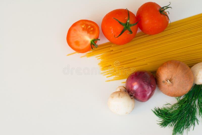 Massa e tomate foto de stock royalty free