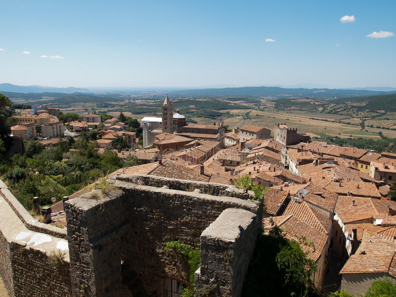 Massa Marittima, Itália imagem de stock royalty free
