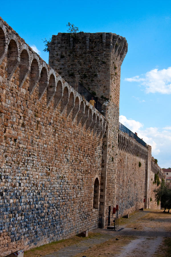 Download Massa Marittima - The Walls Stock Photo - Image: 11112158