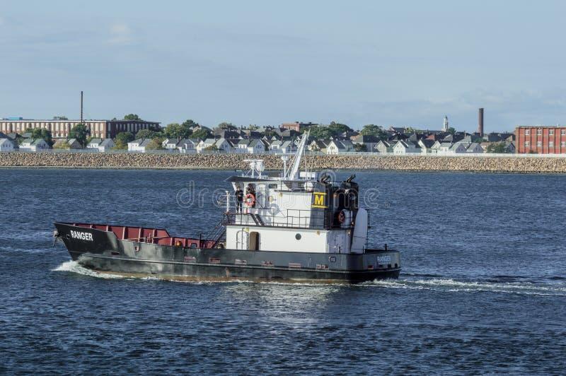 Massachusetts Morskiej akademii naczynia stażowy leśniczy obrazy royalty free