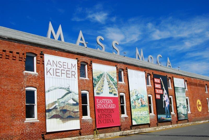 Massachusetts-Museum der zeitgenössischen Kunst-MASSE MOCA stockfoto