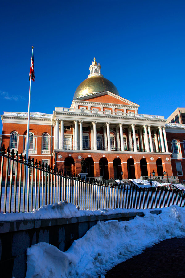 Massachusetts State House royalty free stock images