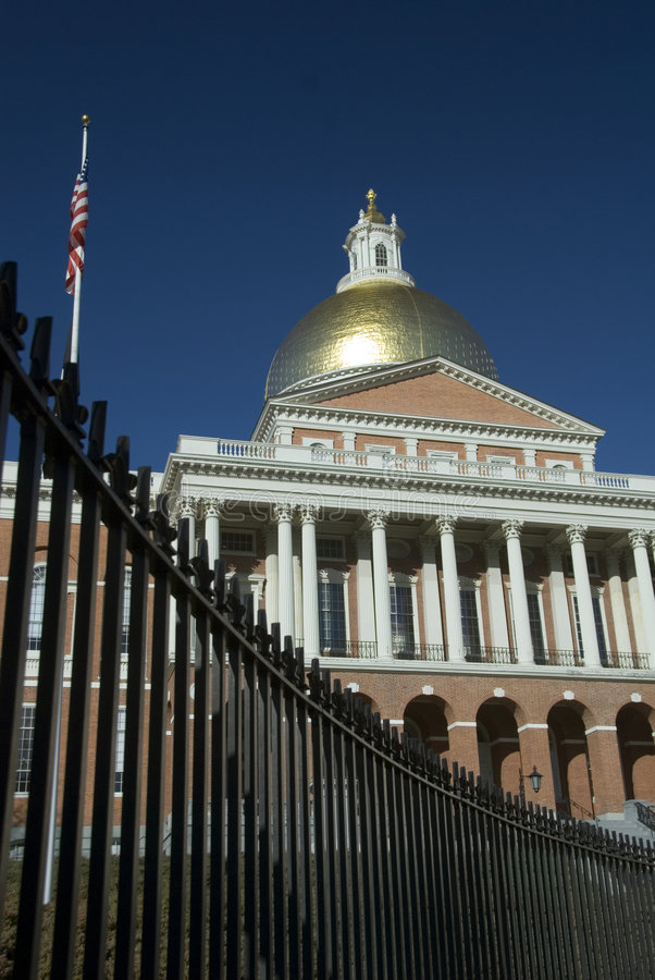 Download Massachusetts State House stock photo. Image of corinthian - 1845096