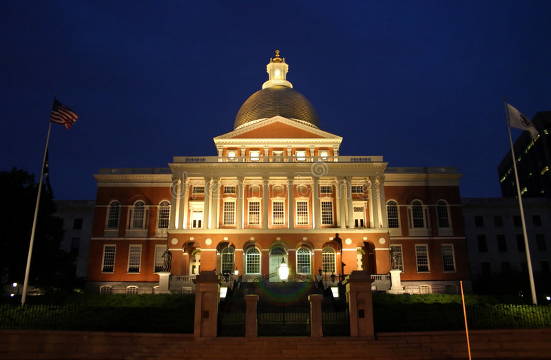 Download Massachusetts State House stock photo. Image of property - 2318756