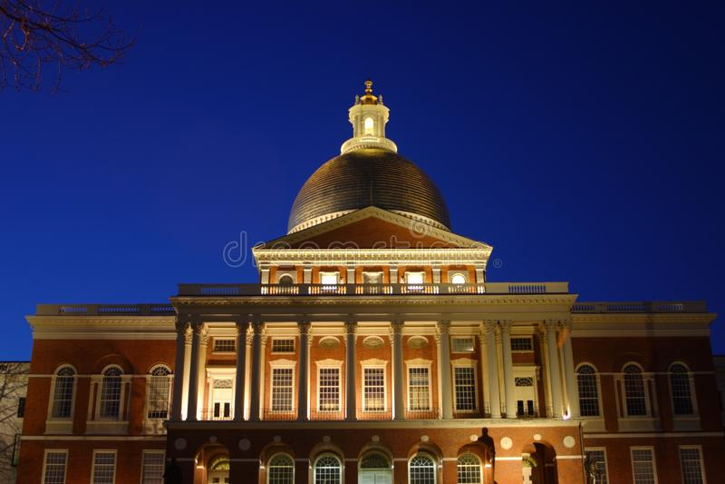 Massachusetts State House, Boston, USA royalty free stock photo
