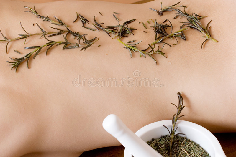 Massage #11 lizenzfreie stockbilder