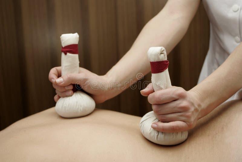 Massage stock foto