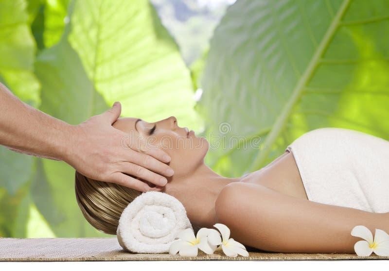 Massage photographie stock