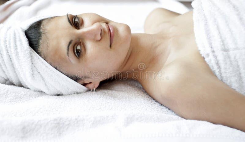 Massage stock fotografie
