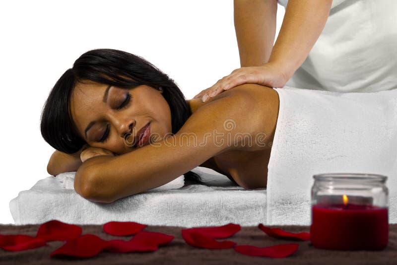 Massage photo libre de droits