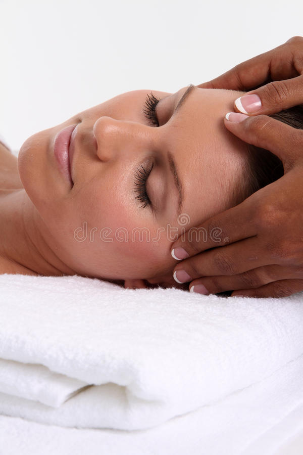 Download Massage stock image. Image of girl, healthy, relaxing - 28632261