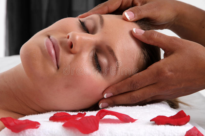 Massage royalty free stock photos